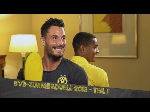 BVB Dorm Duel 2018 | Part 1 w/ Bürki/Akanji, Reus/Weigl & Dahoud/Burnic