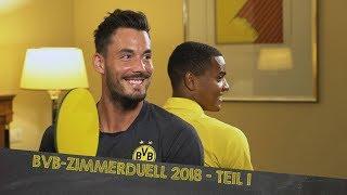 BVB Zimmerduell 2018 | Part 1 w/ Bürki/Akanji, Reus/Weigl & Dahoud/Burnic