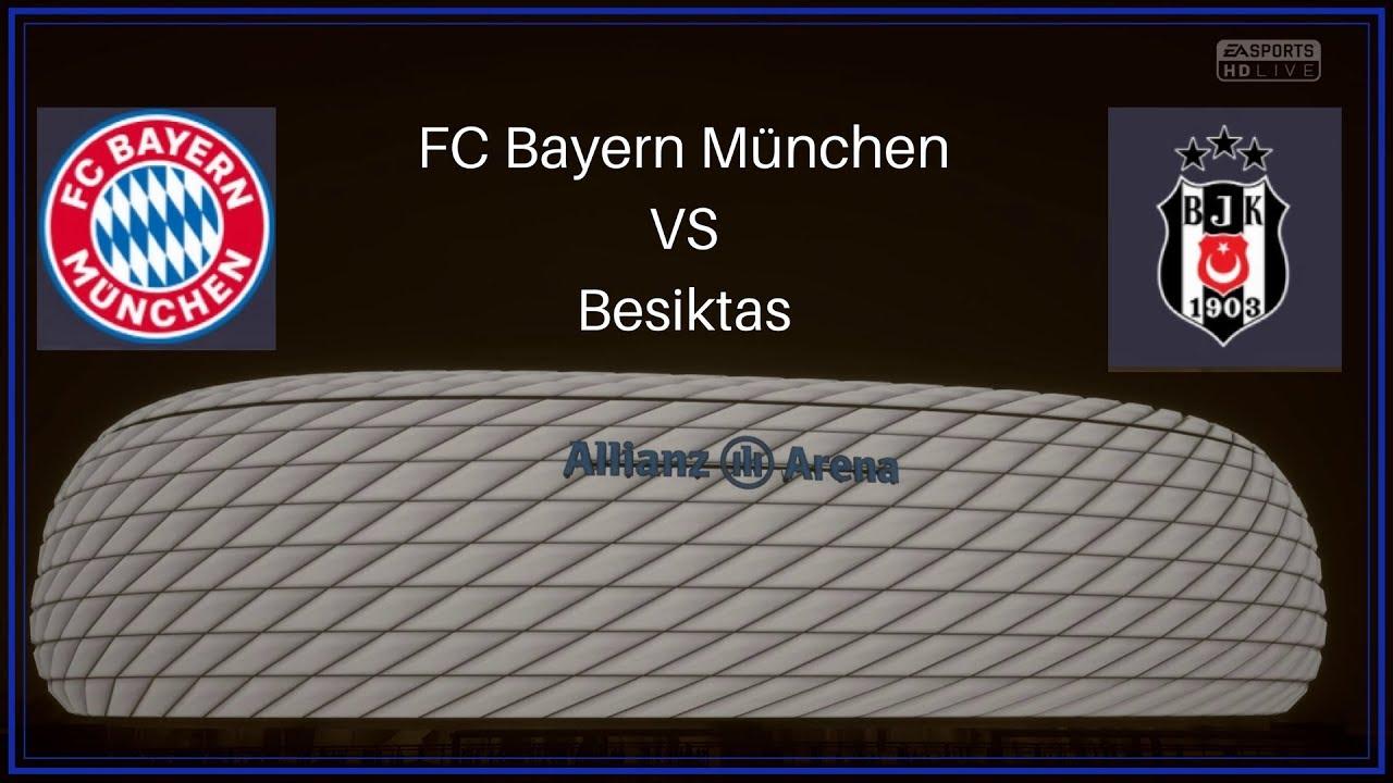 Fc Bayern Vs Besiktas