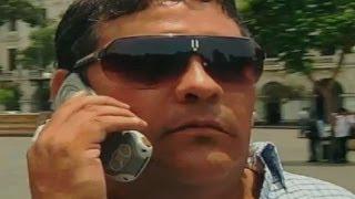 Experimento de La Noche Es Mía: El loco del celular