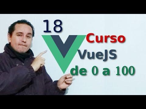 18.-Vue js 2 tutorial español 👀 [Modificar app creada con CLI (1er parte)]👀👀 thumbnail