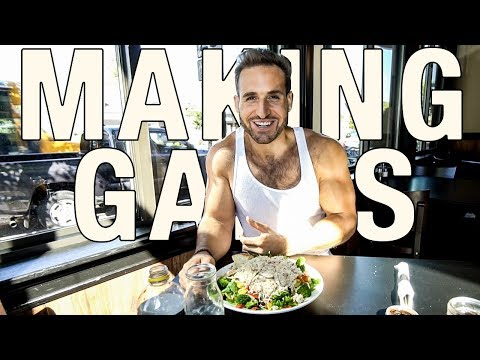 FULL DAY OF EATING FOR GAINING MUSCLE AND LOSING FAT | BODY RECOMP EP.3