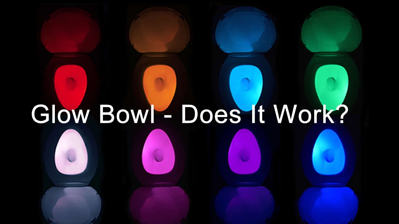 Glow Bowl Led Toilet Light Honest Review Youtube