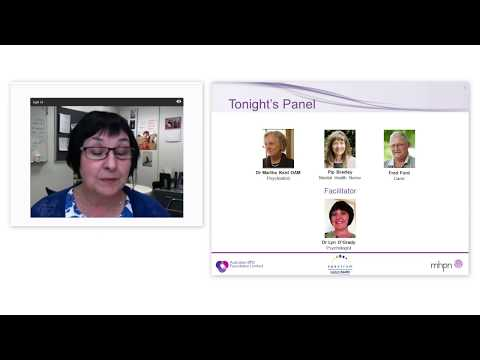 Webinar 3 : Evidence based treatments for people living with BPD