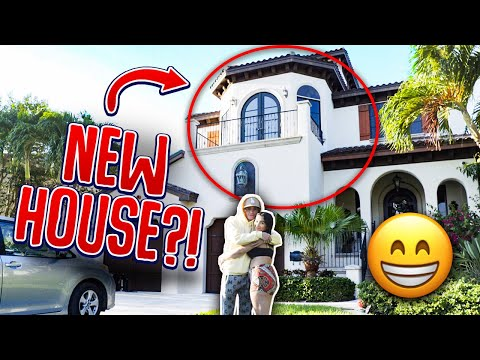 I BOUGHT MY BOYFRIEND HIS DREAM HOUSE FOR HIS BIRTHDAY!