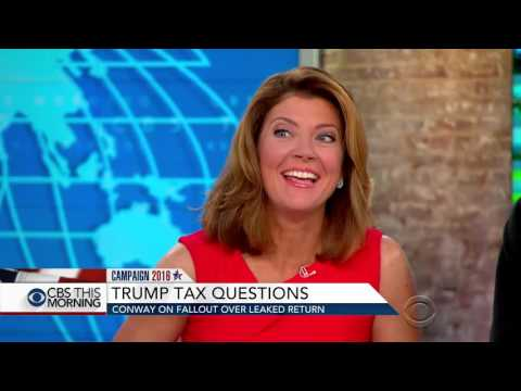 Trump campaign manager on GOP nominee's taxes, poll showing Clinton's lead