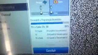 Como sintonizar o Sinal Digital na Tv LG