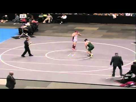 285lbs Class 2A Match From The CHSAA Individual Wrestling Championship