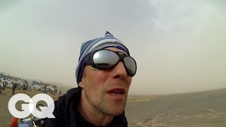 Marathon des Sables: Beginning the Toughest Foot Race on Earth - GQ's Jogging With James Part 1