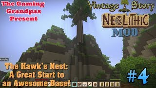 Vintage Story - Neolithic Mod - Multiplayer #4: The Hawk's Nest: A Great Start to an Awesome Base!