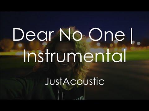 Dear No One  Tori Kelly Acoustic Instrumental