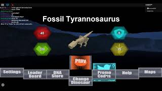 Roblox | Dinosaur Simulator : How to get Fossil Trex and Yutashu Skin For Free! (expired)