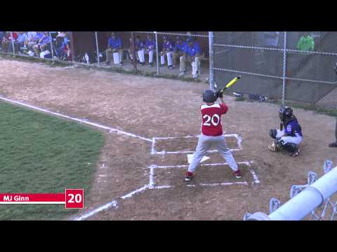 Clips from Ocean City / Upper Township 11 & 12 year old Little League Championship Game