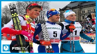 Federico Pellegrino vince la Sprint a Dresda