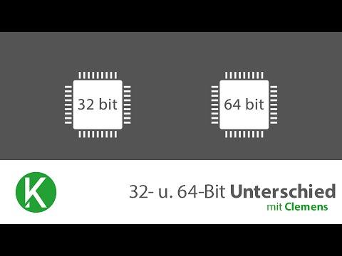 PC-Grundlagen | Unterschied zwichen 32- 64-Bit [Deutsch | German][Full HD]