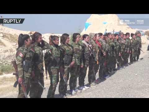 Женский батальон сирийской
