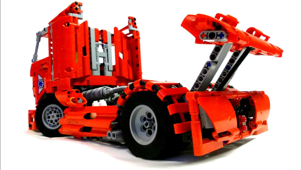 lego technic race truck youtube. Black Bedroom Furniture Sets. Home Design Ideas
