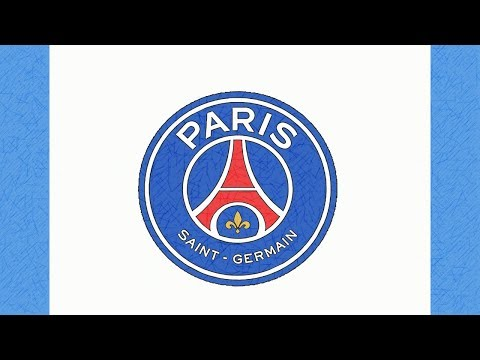 COMMENT DESSINER LE LOGO DU PSG (PARIS SAINT-GERMAIN)