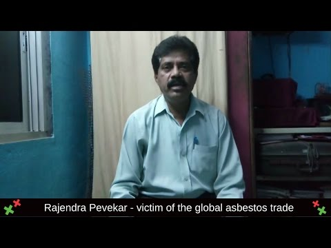 Rajendra - victim of the global asbestos industry
