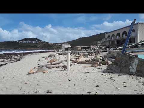 Guana bay 6 May 2018 after hurricane Irma St Martin