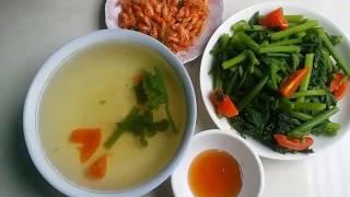 Cách luộc rau bí ngô xanh ngon ngọt nước!