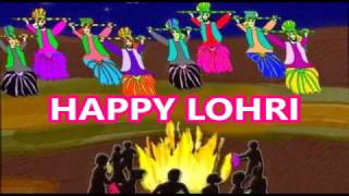 Happy Lohri 2017 - funny Whatsapp video, wishes, greetings, SMS, message, E-card