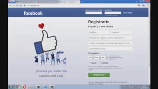 Crear Cuenta en Facebook sin Numero de Celular ni Correo FACIL 2018