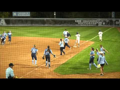 UNC Softball: Wike Diving Catch To End Game