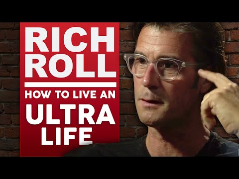 RICH ROLL - HOW TO LIVE AN ULTRA LIFE Part 1/2   London Real