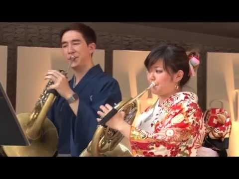 The Pacific Music Festival Horn Section 2015 on Sarah´s Music