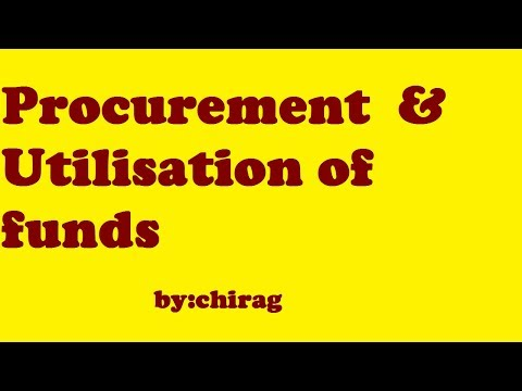 Procurement of funds,utilisation of funds,Financial management,ca inter,new syllabus,nov18,may19,fm