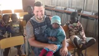 Angola trabalho voluntário 2014