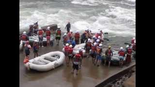 White Water Rafting in the Ocoee River