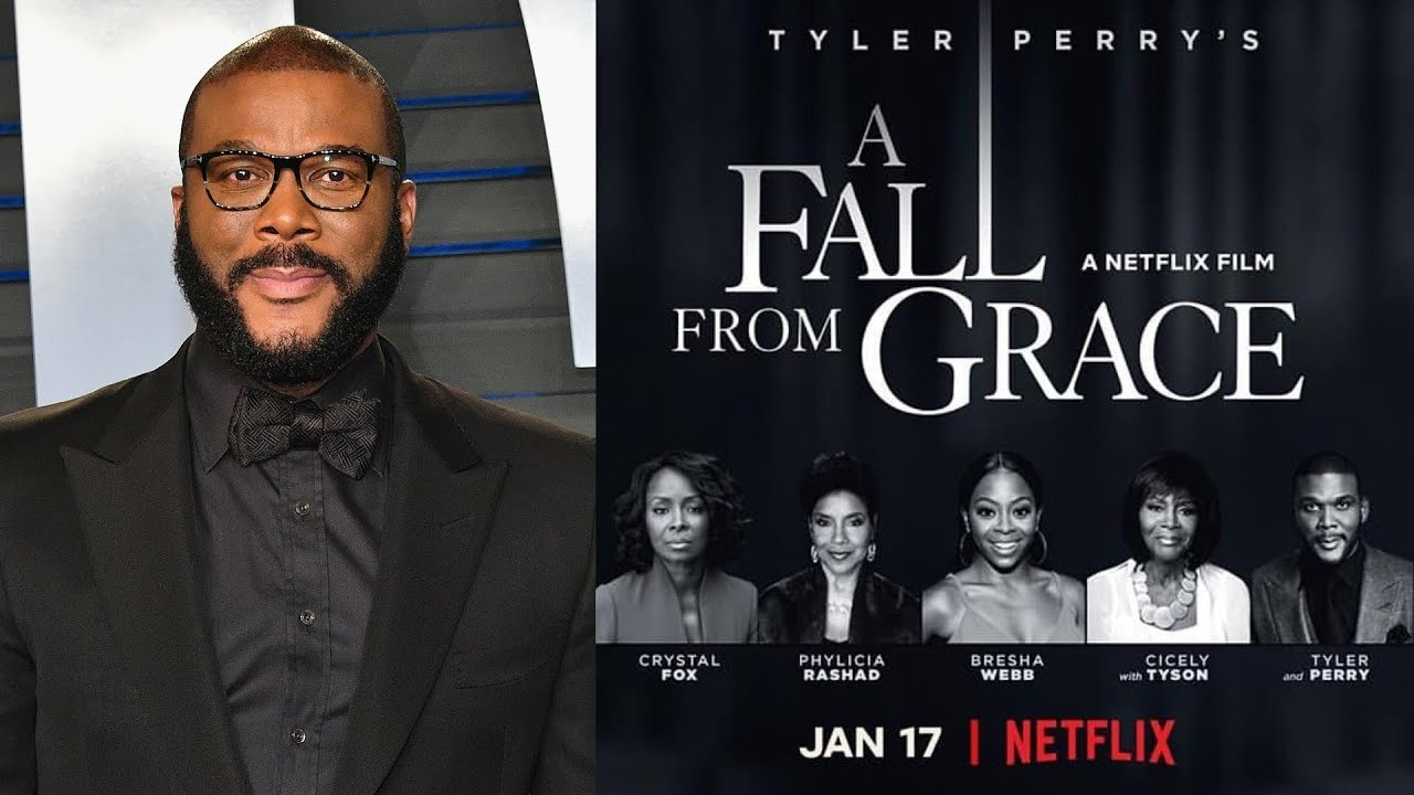 Tyler Perry Drops 'A Fall from Grace' on Netflix [Official Trailer]