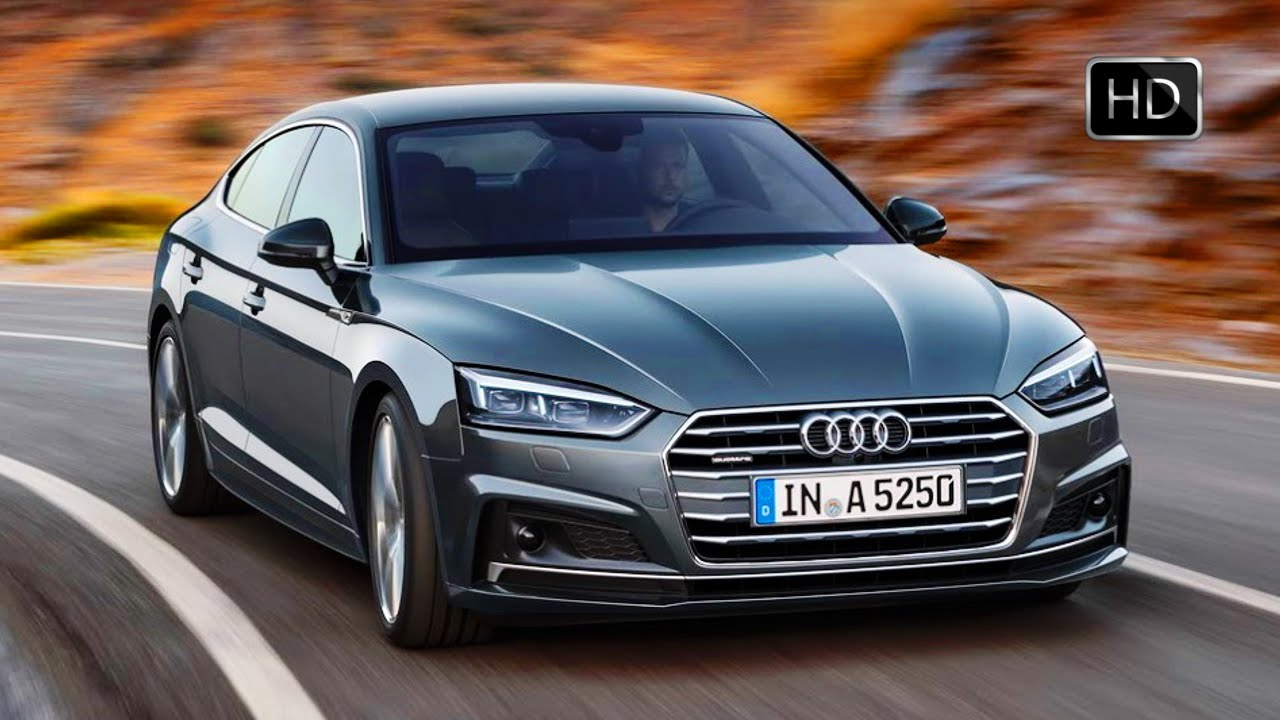 2017 audi a5 sportback with 286 hp diesel v6 engine road test drive hd youtube