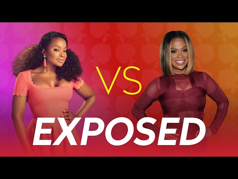 The Kandi Burruss & Phaedra Parks Feud On The Real Housewives of Atlanta EXPOSED  🤔