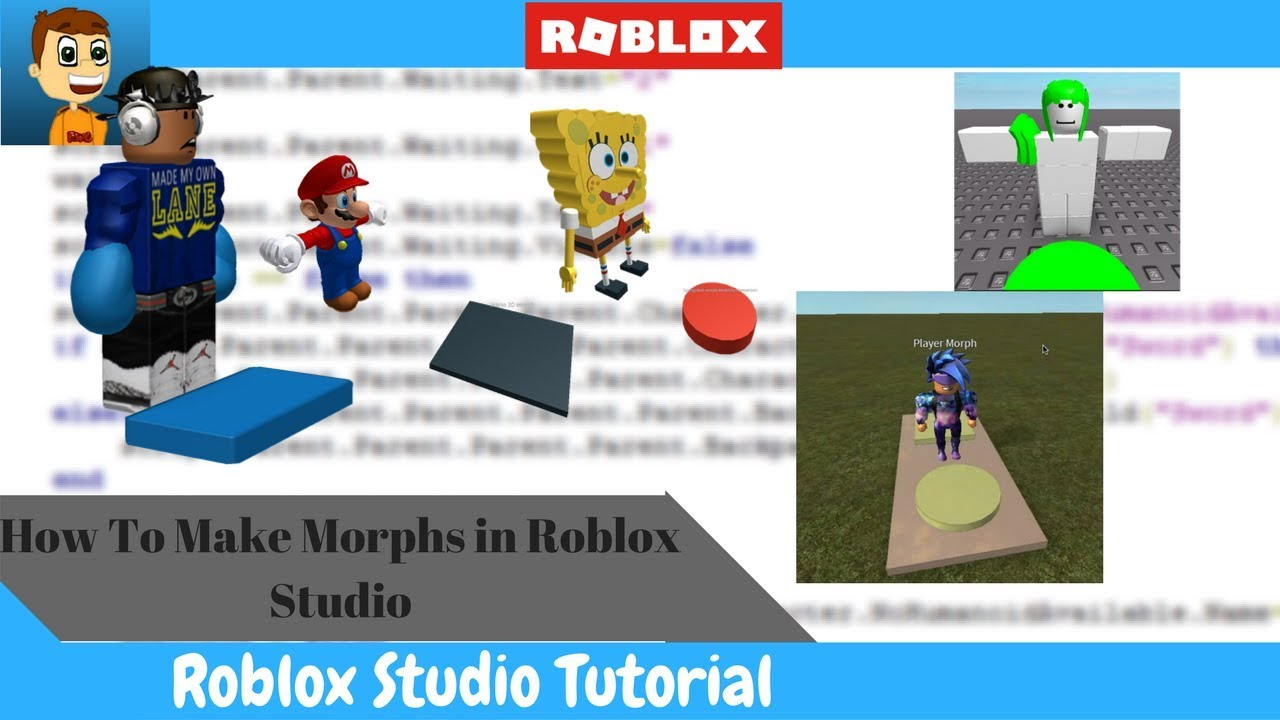 How To Make Morphs In Roblox Youtube
