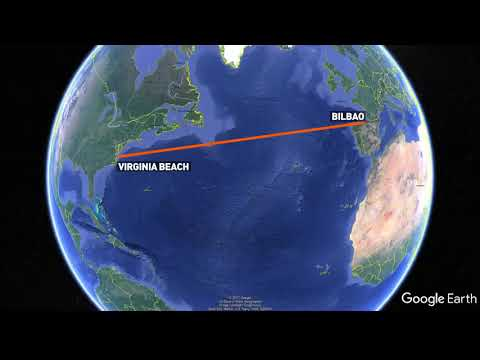 Trans-Atlantic data cable from Virginia to Spain is complete