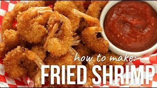 How to Make Panko Fried Shrimp!! - Crispy Breaded Shrimps Recipe