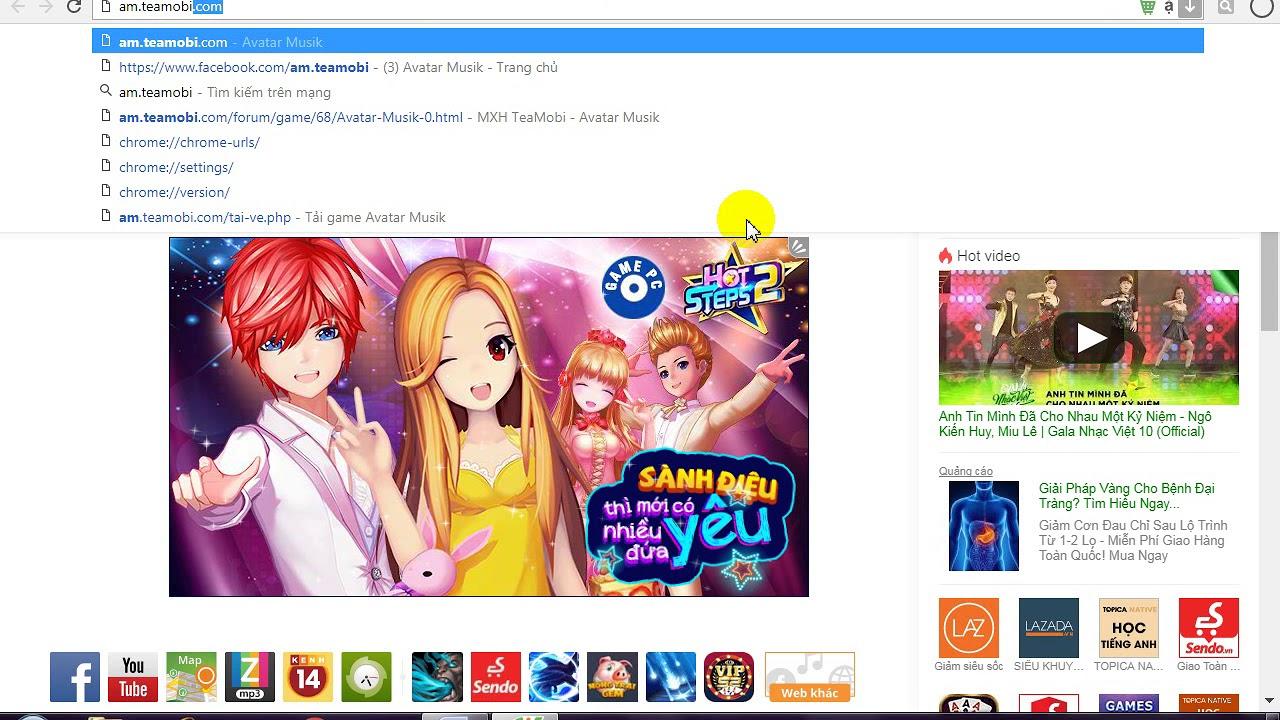 hướng dẫn nạp thẻ game avatar musik trên trang web