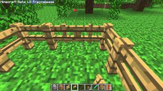 How To Make Fence Gates In Minecrft 1.8
