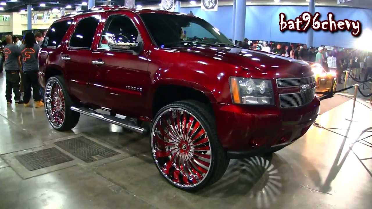 2012 Chevrolet Tahoe Lifted On 32 Quot Forgiatos Forgiato Fest 2013 1080p Hd Youtube
