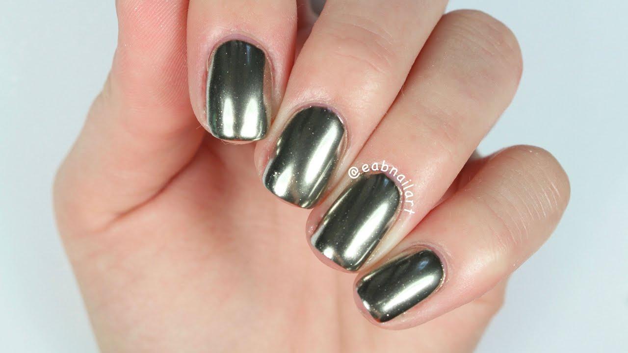 Magic Mirror Nails! - YouTube