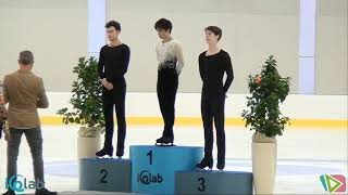 Lombardia Trophy Men's Victory Ceremony - Sept. 15, 2018 宇野 昌磨 / shoma uno - dmitri aliev 宇野昌磨 検索動画 6