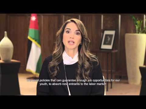 Her Majesty Queen Rania Al Abdullah's televised message for the Government Summit, Dubai