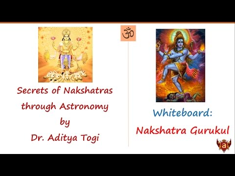 Whiteboard: Astronomy and Nakshatras a tete-a-tete with Dr. Aditya Togi