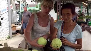 🔴Рынок в Гаграх (часть 2)Абхазия 🔴Лето 2019