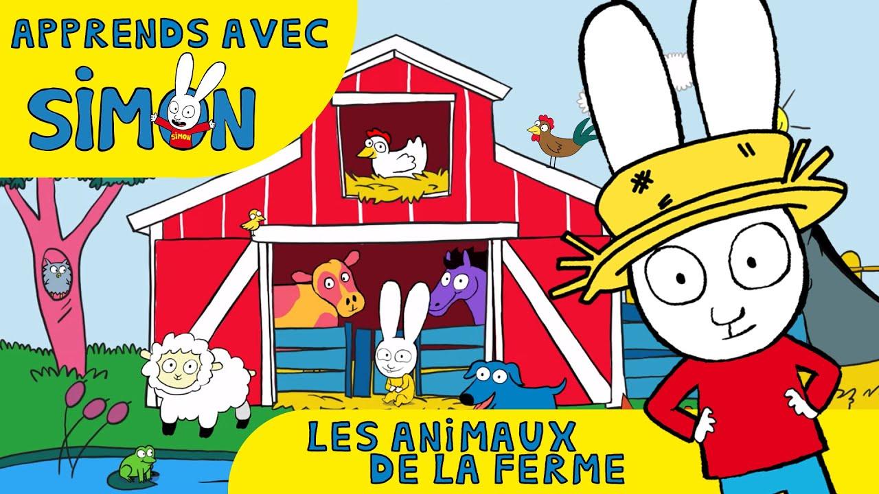 Simon simon et les animaux de la ferme hd officiel dessin anim pour enfants youtube - Dessin animaux de la ferme ...