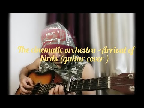 The cinematic orchestra - Arrival of birds| (guitar cover )