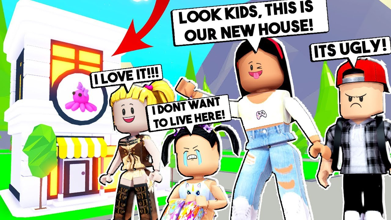 Moving Into Our New House My Spoiled Kids Hate It Roblox